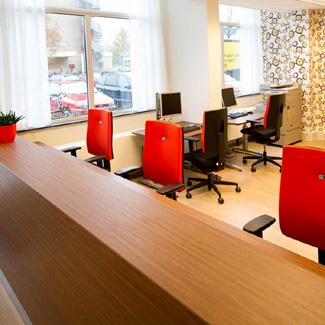 Kantoormeubilair Voor Zorg Groep In Leiden