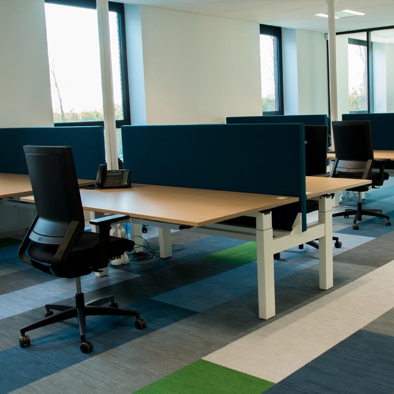 Nobels Machinefabriek Noordwijkerhout Turk en van Rossum ergonomisch kantoormeubilair