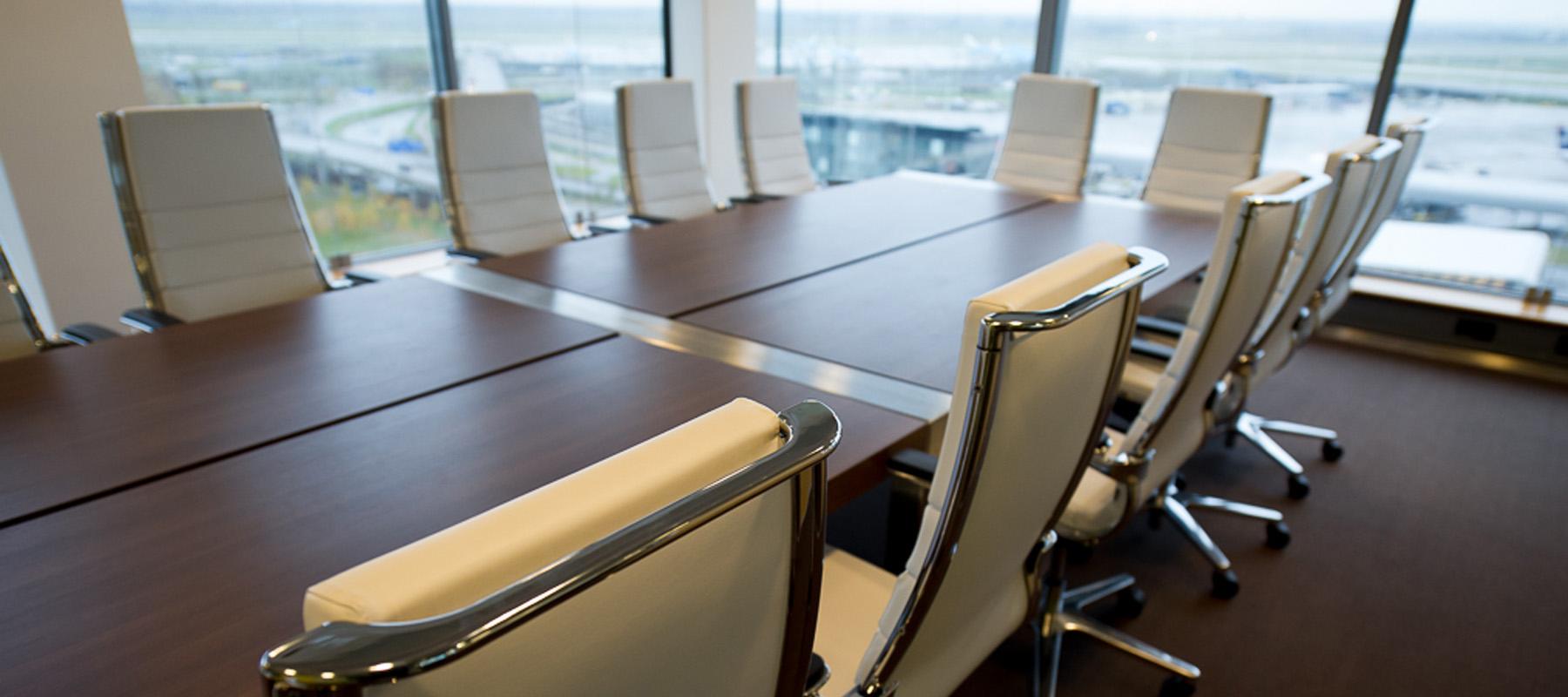 Vebego Airport Services WTC Schiphol Turk en van Rossum kantoorinrichting